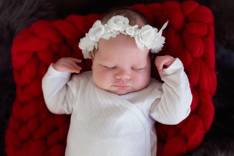 Marysia sesja noworodkowa