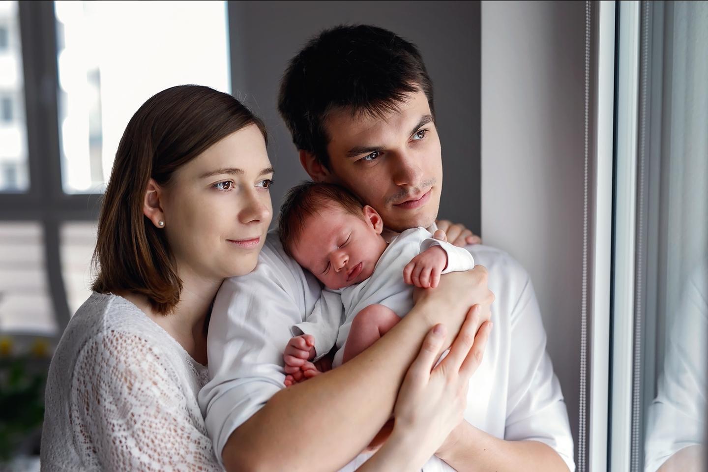 Szymek sesja noworodkowa