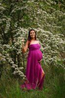 Sylwia sesja ciążowa w plenerze