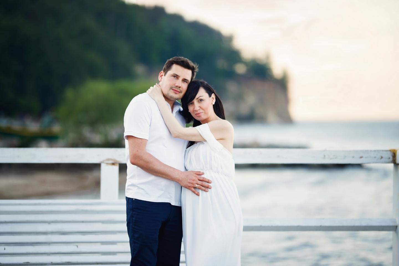 Joanna sesja ciążowa Orłowo