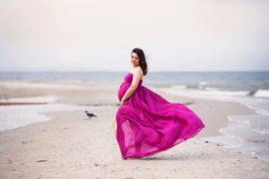 Sylwia romantyczna sesja na plaży