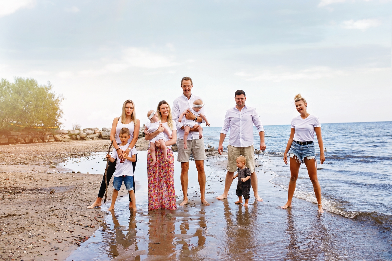 Rodzinna sesja SIÓSTR w Orłowie