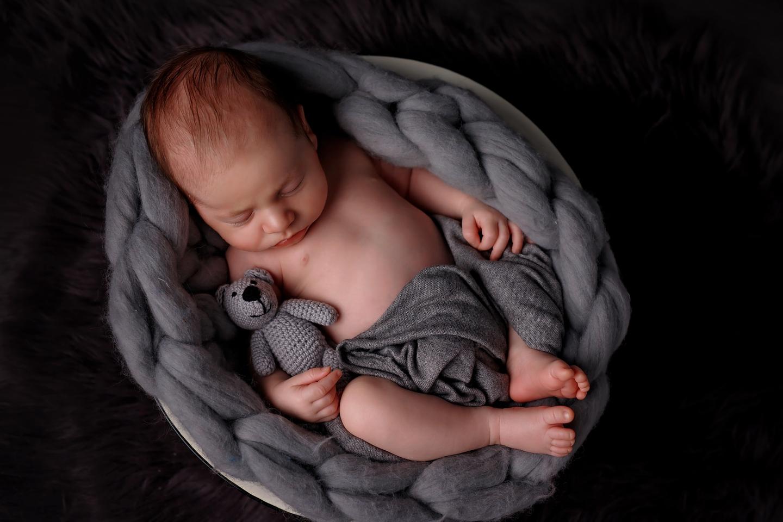 Leon sesja noworodkowa