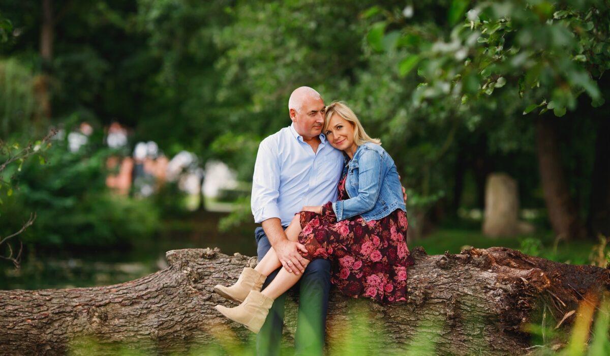 Sesja małżeńska Park Oliwa