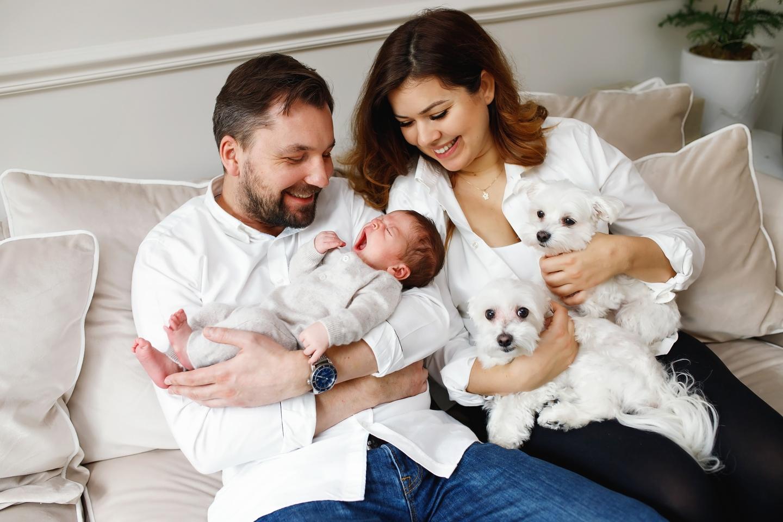 Aleksander sesja noworodkowa w domu