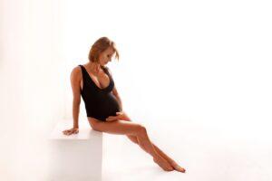 Marta w intymnej sesji ciążowej